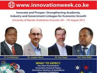 UNES PARTICIPATES IN THE 3RD NAIROBI INNOVATION WEEK DAY1 AT THE UNIVERSITY OF NAIROBI MAIN CAMPUS GREAT COURT FROM 6TH-10TH MARCH, 2017