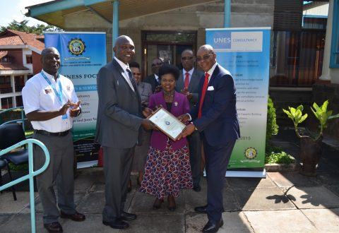Launch of QMS Re-certification and Handing over