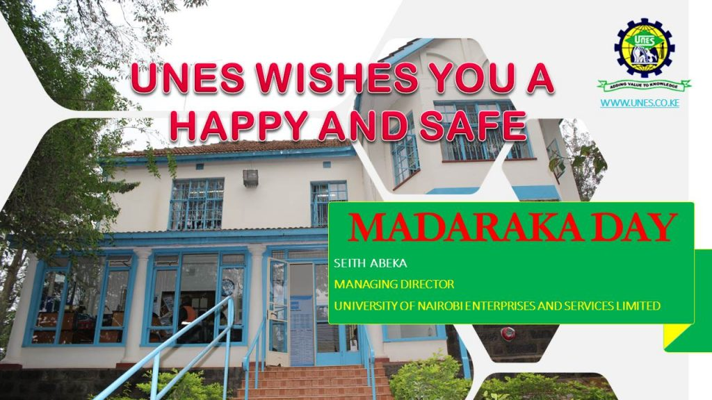 Happy & Safe Madaraka Day