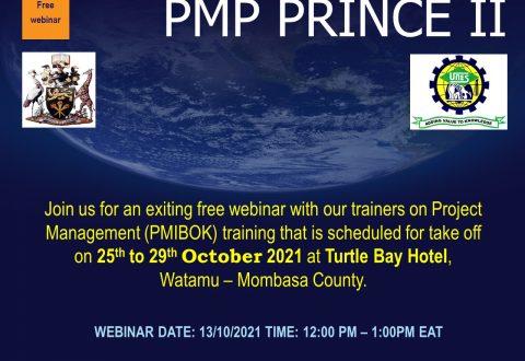 WEBINAR: Project Management (PMIBOK)