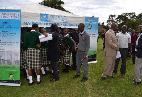 UNES PARTICIPATING IN THE 4TH ANNUAL CAREER WEEK AT KARATINA UNIVERSITY RUNNING FROM 3RD-5TH MAY, 2017 IN KIRINYAGA COUNTY