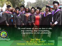 Congratulations on your Graduations