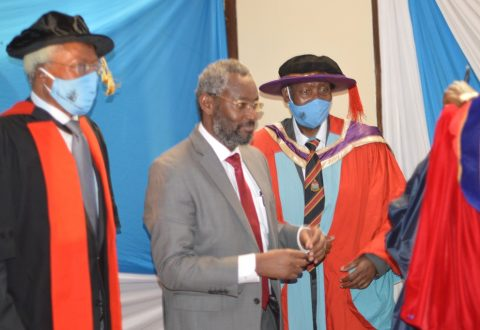 Virtual Installation of the 8th VC of UoN